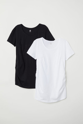 H&M MAMA 2-pack tops