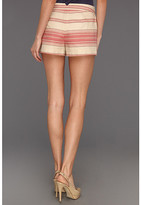 BCBGMAXAZRIA Renee Striped Casual Short
