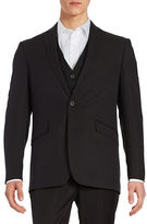 Kenneth Cole Reaction Two-Button Jacket