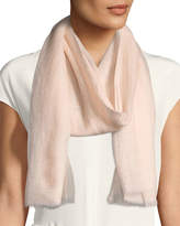 Bindya Sparge Cashmere Accent Desire Stole, Light Pink