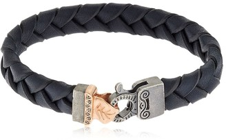 Marco Dal Maso Braided Leather Bracelet