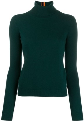 Paul Smith ribbed roll neck jumper