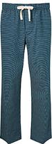 John Lewis Brick Print Lounge Pants, Blue