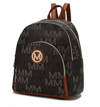 MKF Collection Tima Signature Backpack Bag by Mia K.