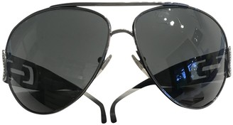 Bvlgari Grey Metal Sunglasses