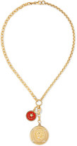 Foundrae - Strength Annex 18-karat Gold, Diamond And Enamel Necklace