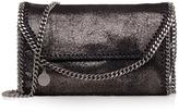 Stella McCartney Shiny Falabella Mini Fold Over Bag