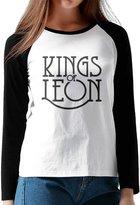 Ahey Sports T-shirts Ahey Girl's Raglan Kings Of Leon Cool T-shirts XL