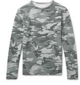 Officine Generale Camouflage-Print Loopback Cotton-Jersey Sweatshirt