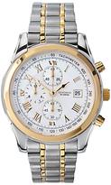 Sekonda 3878.27 Chronograph Two Tone Bracelet Strap Watch, Silver/gold