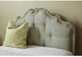 Florentine Palace Upholstered Headboard with Carved Wooden Frame
