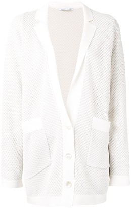 Agnona long-line V-neck cardigan