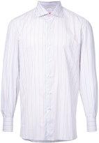 Isaia striped shirt - men - Cotton - 40