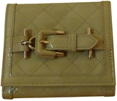 Burberry Beige Patent leather Wallet