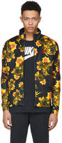 Nike Black and Yellow Floral N98 Jacket