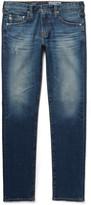 Ag Jeans - Dylan Skinny-fit Distressed Denim Jeans