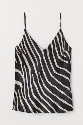H&M V-neck strappy top