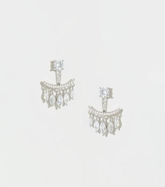 New Look Cubic Zirconia Mini Chandelier Earrings