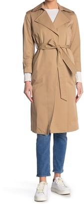 AllSaints Miley Mac 3/4 Sleeve Trench Coat
