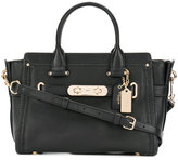 Coach small Swagger 27 tote - women - Leather - One Size