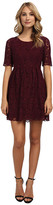 Yumi Fit And Flare Lace Dress