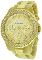 Michael Kors Women's MK5417 Madison Chronograph Horn and Watch