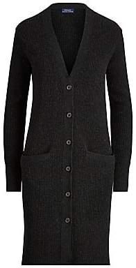 Polo Ralph Lauren Women's Ribbed Wool & Cashmere Blend Cardigan