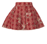 Vivienne Westwood W.W. Miniskirt Red/Pink Old Roses Size 10