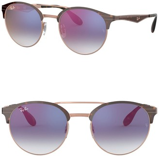 Ray-Ban Phantos 51mm Clubmaster Sunglasses