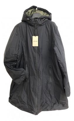 Roberto Cavalli Navy Polyester Coats