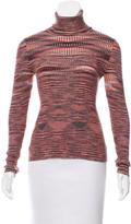 Missoni Patterned Turtleneck Sweater