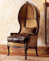 Leather Balloon Armchair