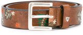 Htc Hollywood Trading Company - printed belt - women - Cotton - 80