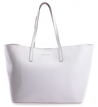 Michael Kors Women's Totebags OPTIC - White Emry Large Leather Tote