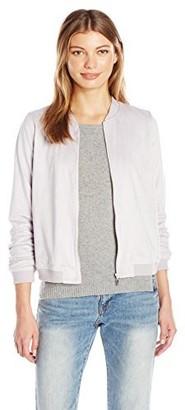 Kensie Women's Stretch Suede Jacket