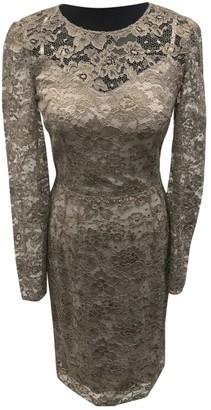 Dolce & Gabbana Khaki Lace Dress for Women
