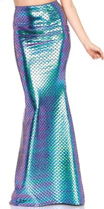 Leg Avenue Women's Iridescent Mermaid Skirt
