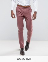 Asos TALL WEDDING 100% Merino Wool Skinny Pant