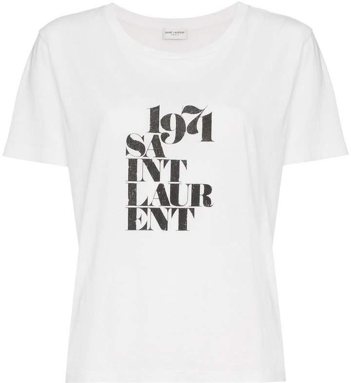 7142fafc Saint Laurent Tshirt Sale - ShopStyle