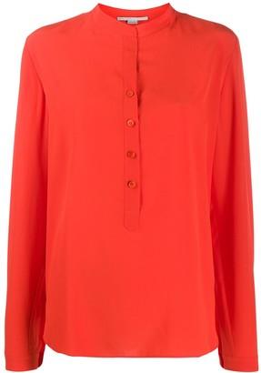Stella McCartney long-sleeve button-down blouse