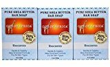 Out of Africa Out of Africa, Pure Shea Butter Bar Soap, Unscented, 3 Pack, 4 oz (120 g) Each - 2PC