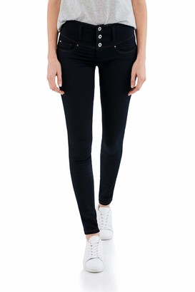 Salsa Mystery Push up Skinny Soft Denim Jeans Blue