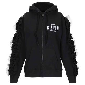 Gina Black Cotton Jacket for Women