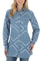 Wrangler Denim Button Front Tunic