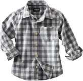 Osh Kosh Checkered Button-Front Shirt