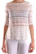Pinko Women's White Cotton Top.