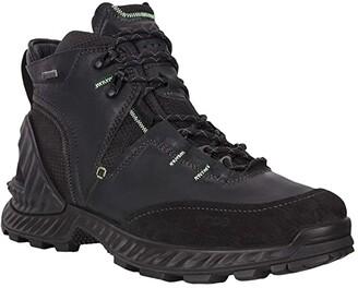 Ecco Sport Exohike High (Black/Black) Men's Shoes