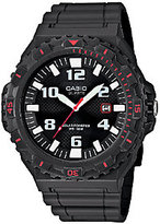 Casio Men's Black and Red-Accented Analog SportWatch