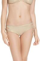 Women's The Bikini Lab Hot Shine Laced Bikini Bottoms