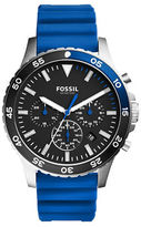 Fossil Round Strap Chronograph Watch